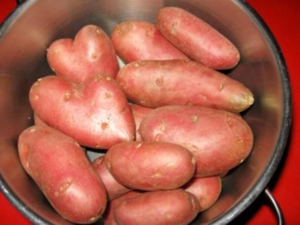 Warmer Kartoffelsalat mit Kasseler-Lachse - Rezept - Bild Nr. 2