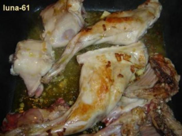 CONIGLIO ALLE OLIVE - Kaninchen mit Oliven - Rezept - Bild Nr. 4