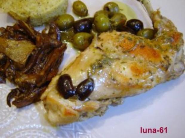 CONIGLIO ALLE OLIVE - Kaninchen mit Oliven - Rezept - Bild Nr. 7