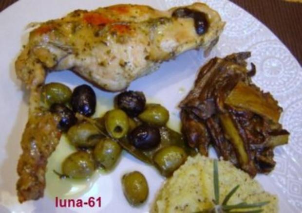 CONIGLIO ALLE OLIVE - Kaninchen mit Oliven - Rezept - Bild Nr. 8