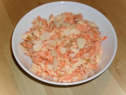 Apfel - Möhren - Salat - Rezept