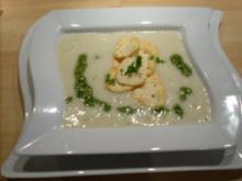 Mandel-Safran-Schaumsüppchen - Rezept