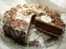 Kaffee-Schoko-Torte - Rezept