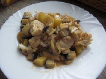 Fisch-Curry mit Kokos - Rezept