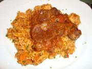 Hauptgericht - Rind - Ossobuco mit Rinderbeinscheiben - schnell - Rezept