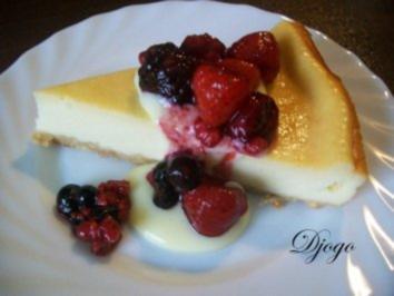 Cheesecake mit Beeren - Rezept