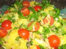 Kartoffel-Rucola-Salat - Rezept