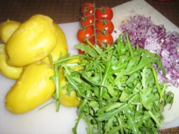 Kartoffel-Rucola-Salat - Rezept - Bild Nr. 2