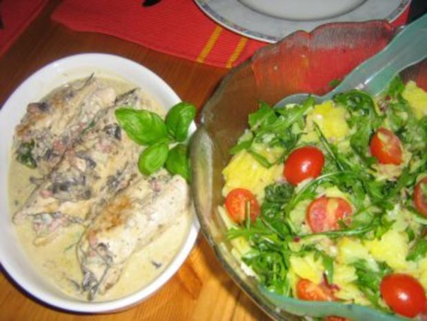 Kartoffel-Rucola-Salat - Rezept - Bild Nr. 5