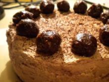 Kuchen: Schokosahne-Pralinen-Torte - Rezept