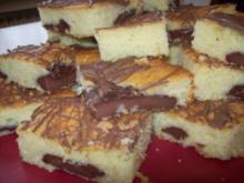 Kuhflecken-Puddingkuchen vom Blech - Rezept