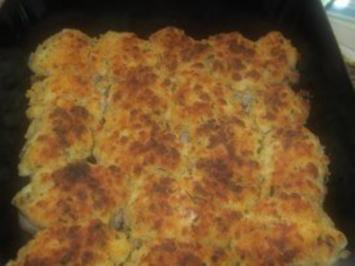 Rezept: Fleisch: Schweinsfilet mit Mozzarellakruste