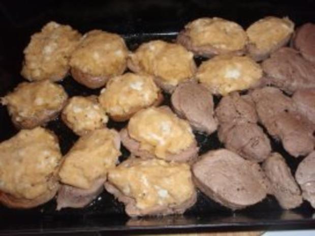 Fleisch: Schweinsfilet mit Mozzarellakruste - Rezept - Bild Nr. 3