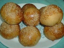 BRÖTCHEN - gefüllt mit Lammhack - Rezept