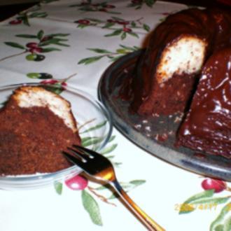 Schoko-Kokos-Kuchen - Rezept