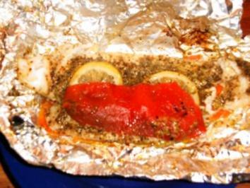 gedämpftes Pangasiusfilet auf Möhren - Rezept