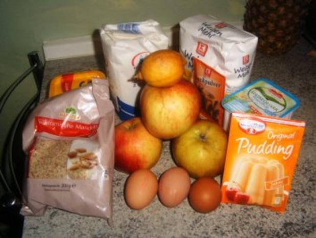 Apfelkuchen mit einer feinen Knusperdecke - Rezept - Bild Nr. 2