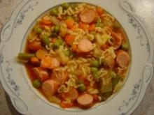 Gemüse-Eintopf mit Nudeln... Kalorienarm - Rezept