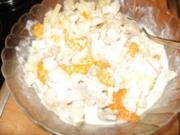 Geflügelsalat mit Obst - Rezept