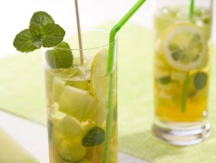 Melonen-Bowle - Rezept