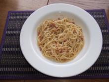 Spaghetti alla Carbonara - Rezept