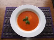 Tomaten -Mozzarella - Suppe - Rezept