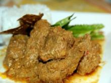 Malaiische Rendang Daging - Rezept