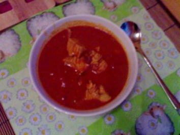 Indische Currysuppe - Rezept