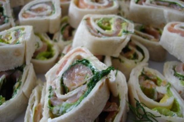 Lachs-Wraps - Rezept