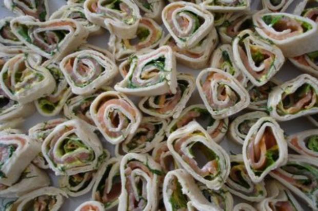 Lachs-Wraps - Rezept - Bild Nr. 8