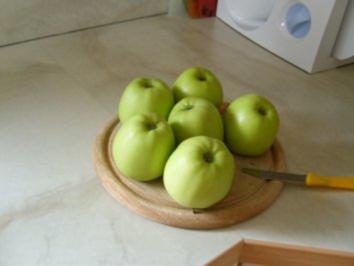 Gratinierte Apfelspeise - Rezept