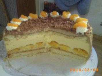 Torten: Orangen-Mokka-Torte - Rezept