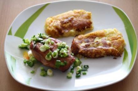 Amarula Entenbrust mit Kartoffel-Birnen-Beignets - Rezept - Bild Nr. 3