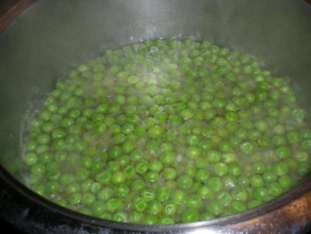 Erbsen Suppe mit Safransud - Rezept - Bild Nr. 3
