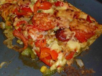 Kartoffelpizza - Rezept