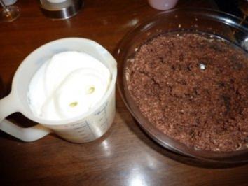 Schokoladen+Kirsch ergibt Kuchen - Rezept