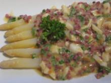 Lauwarmer Spargel-Salat - Rezept