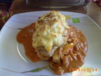 Mittagessen: Schnitzelpfanne mit Kartoffelpürree - Rezept