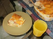 Lasagna- Louisiana Shrimp Lasagna ohne rote Sosse- 195 Kal. Das ist eines der besten Rezepte wo ich koche - Rezept