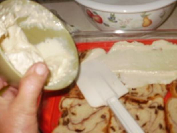 Pudding- Florida Zitronenpudding mit Brot oder Brotresten - schmeckt besser wie Kuchen und so einfach - Rezept - Bild Nr. 3