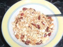 Nuss-Granola - Rezept