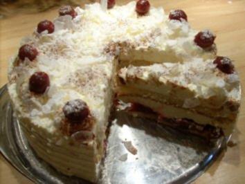 Kirsch-Joghurt-Torte - Rezept