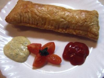 Champignon-Schweinebraten-Pasteten - Rezept