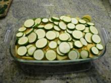 Kartoffel -Zucchini- Auflauf - Rezept
