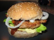 Hähnchen-Fit- Burger - Rezept