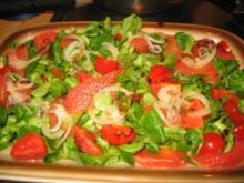 Salat: Feld-Grapefruitsalat.... - Rezept