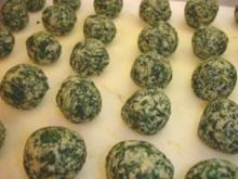 Ricotta-Spinat-Nocken - Rezept
