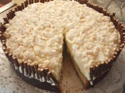 Torte: Meringues - Torte - Rezept