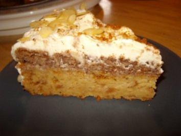 Apfel-Amaretto-Torte - Rezept