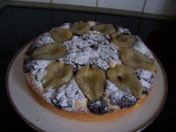 Kleckselkuchen mit Birnen - Rezept
